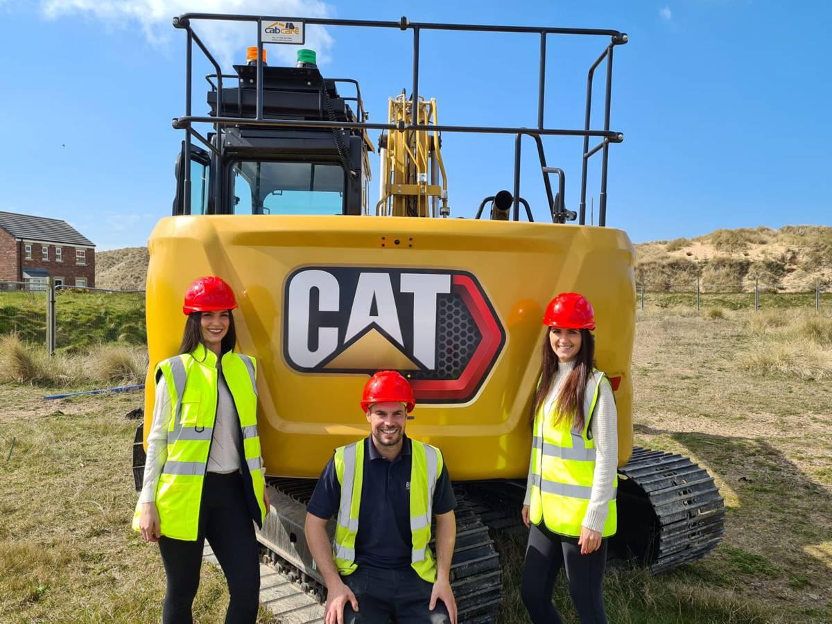 Wigan based Breheny Groundwork invest in 3 next generation Cat 313 GC Excavators