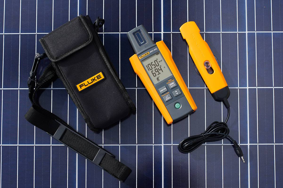 Fluke brings Test and Measurement experience to the Solar Industry