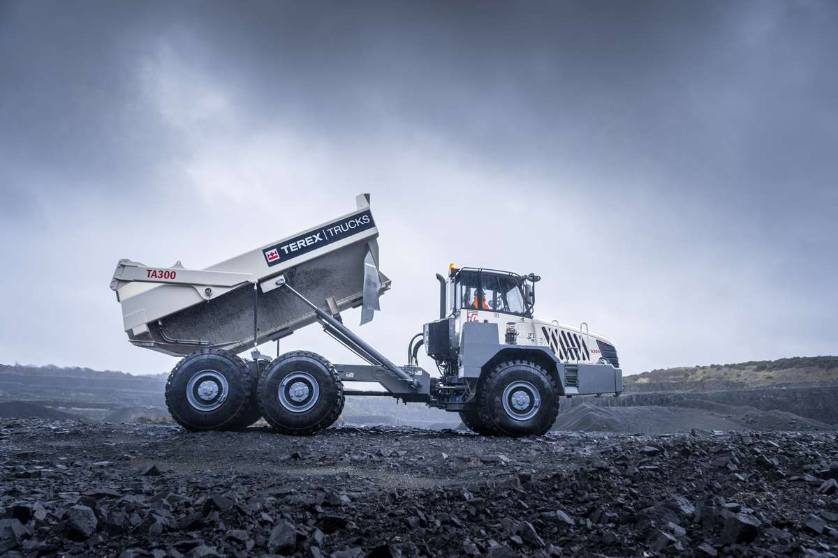 Articulated haulers are the perfect choice for tough tunnelling projects