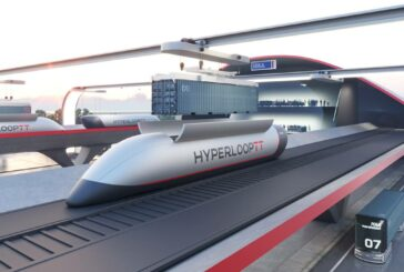 HyperPort concept revealed by HyperloopTT and HHLA