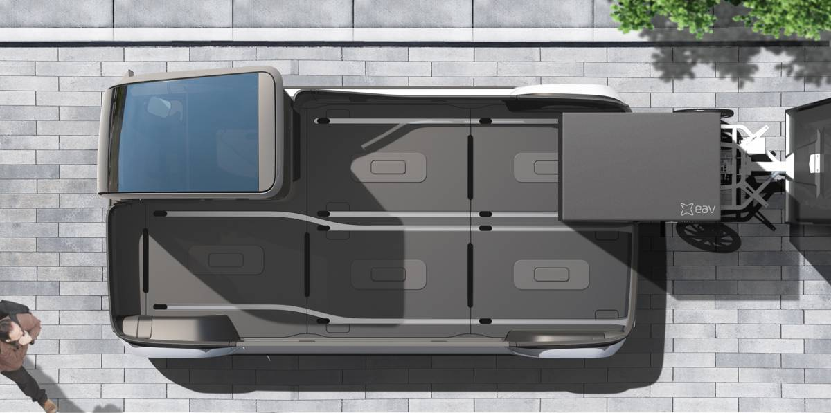 Electric Assisted Vehicles reveals their all-electric mid-mile urban van