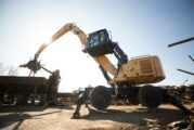 The new Cat MH3040 Material Handler reduces fuel and maintenance costs