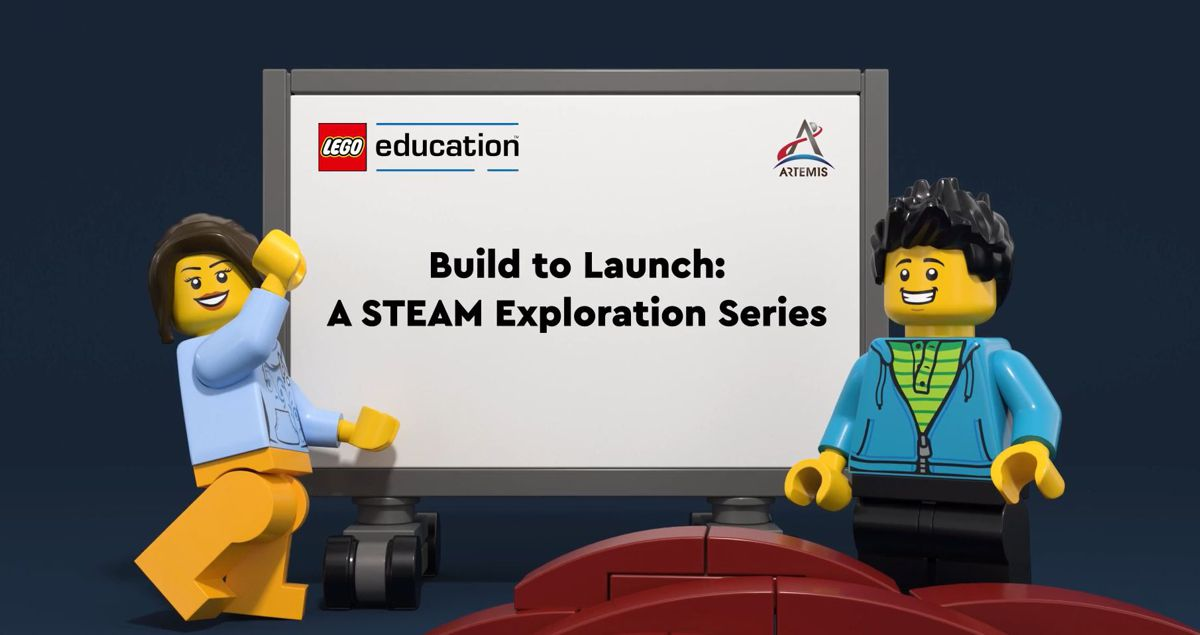 LEGO Education and NASA collaborate on 10-week STEAM Learning series