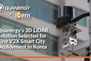 Quanergy 3D LiDAR selected for V2X Smart City deployment in Korea