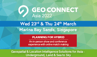 Geo Connect Asia 2022 23rd & 24th March 2022 in Singapore