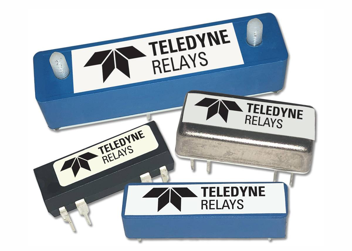 Teledyne Relays releases four Reed Relay ranges for high-reliability applications