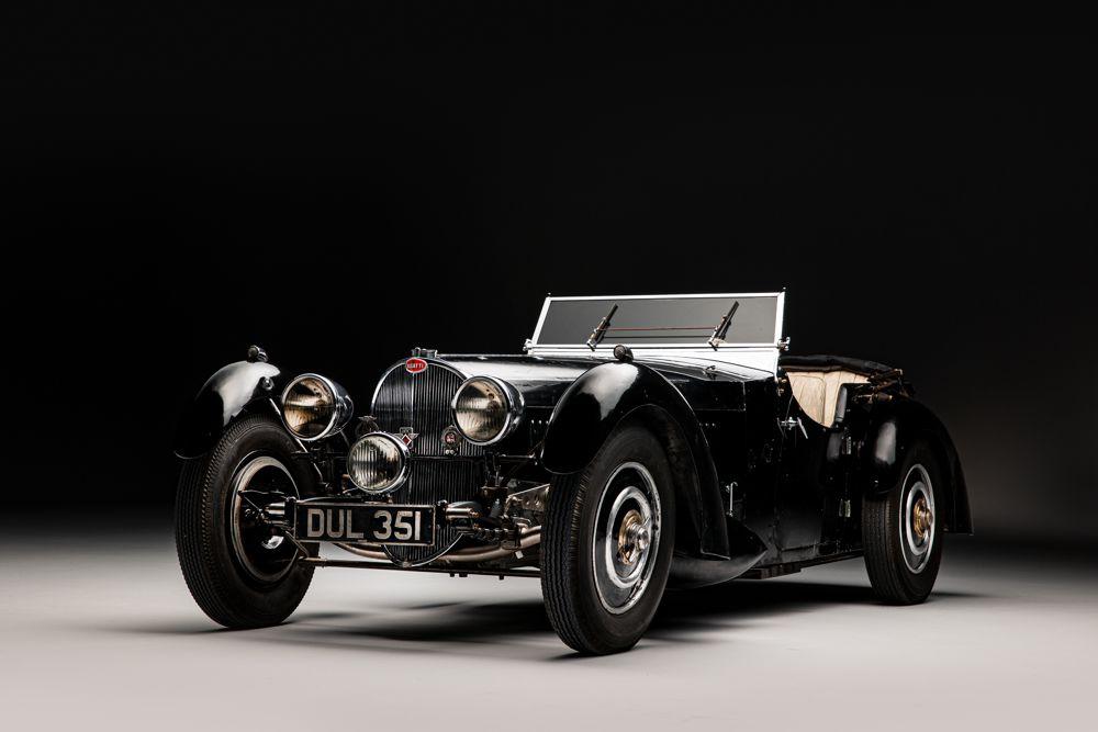 The rare Bugatti which Bill Turnbull bought in 1969
