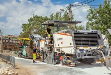 Wirtgen cold recycling train brings sustainability to road rehabilitation in Portugal