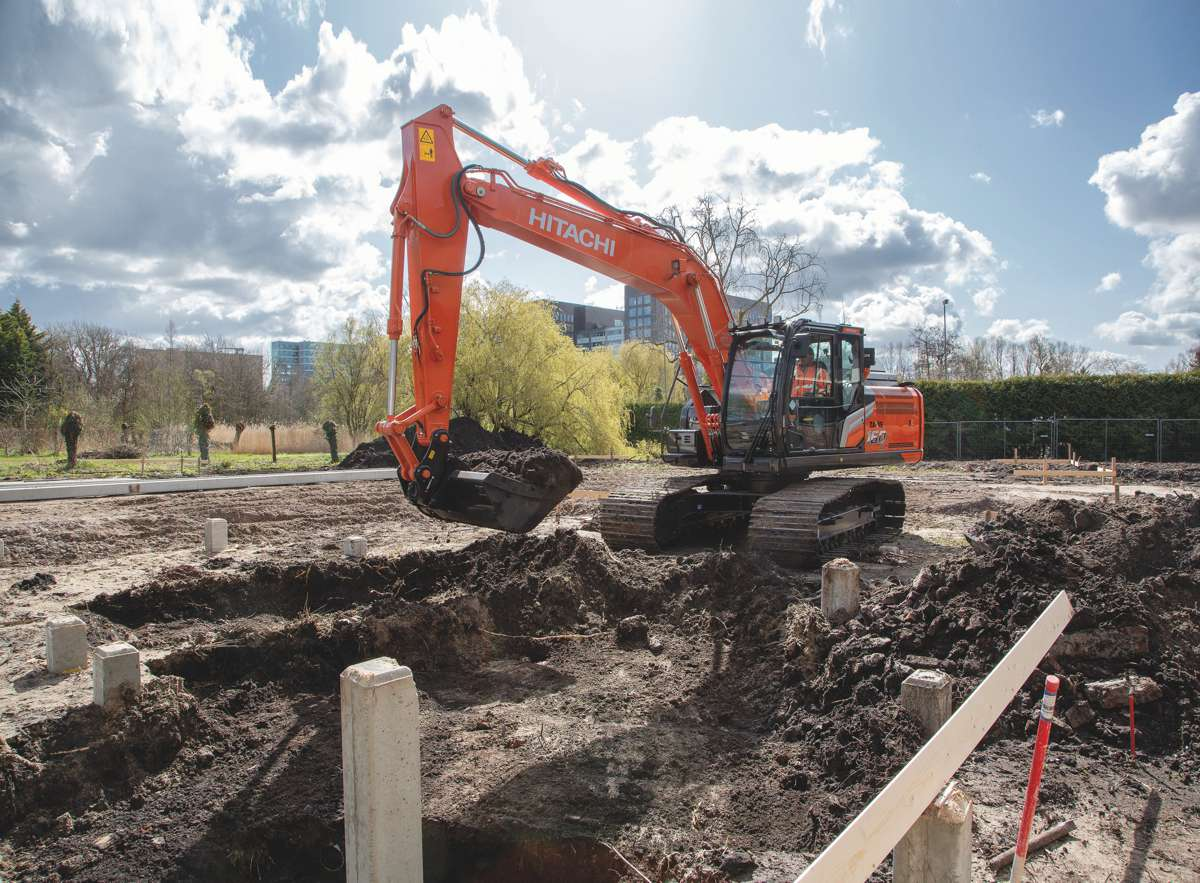 Maximise uptime with Hitachi ZX160-7 and ZX180-7 Excavators