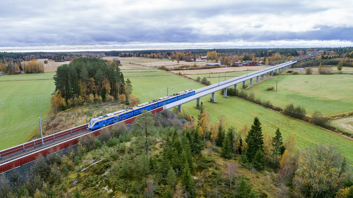 Sweco to conduct planning for North Bothnia Line in Sweden
