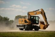 New Cat M320 Wheeled Excavator delivers higher swing torque and longer wheelbase