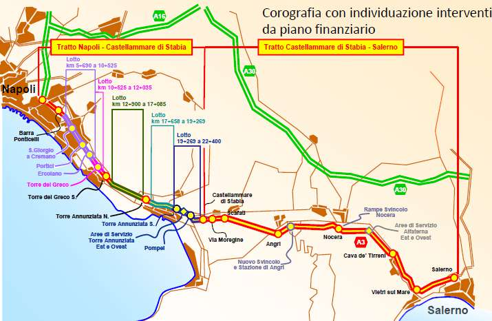 SIS Consortium signs Italian A3 Naples to Salerno motorway concession
