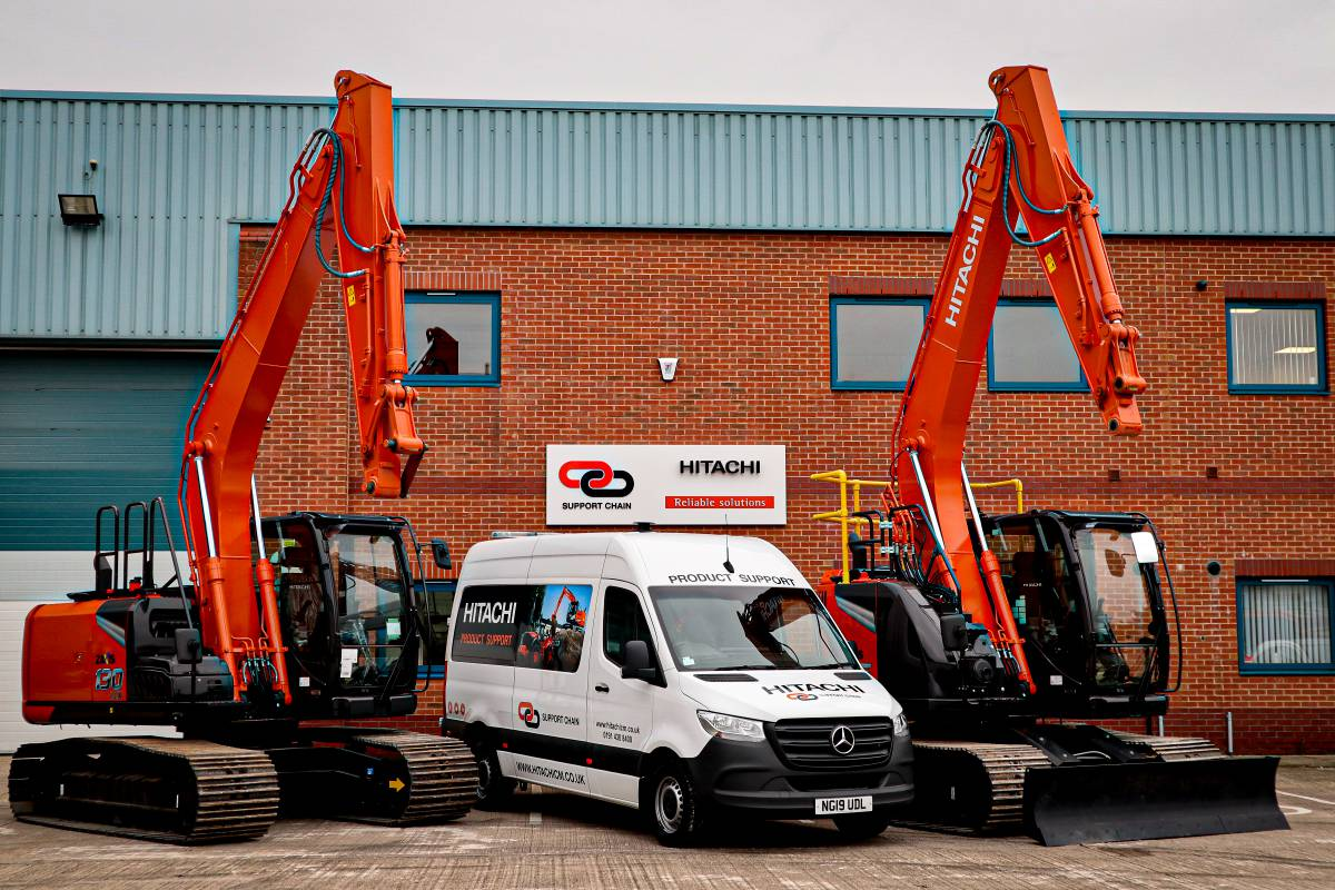 Hitachi Construction Machinery UK opens support depot in Yorkshire