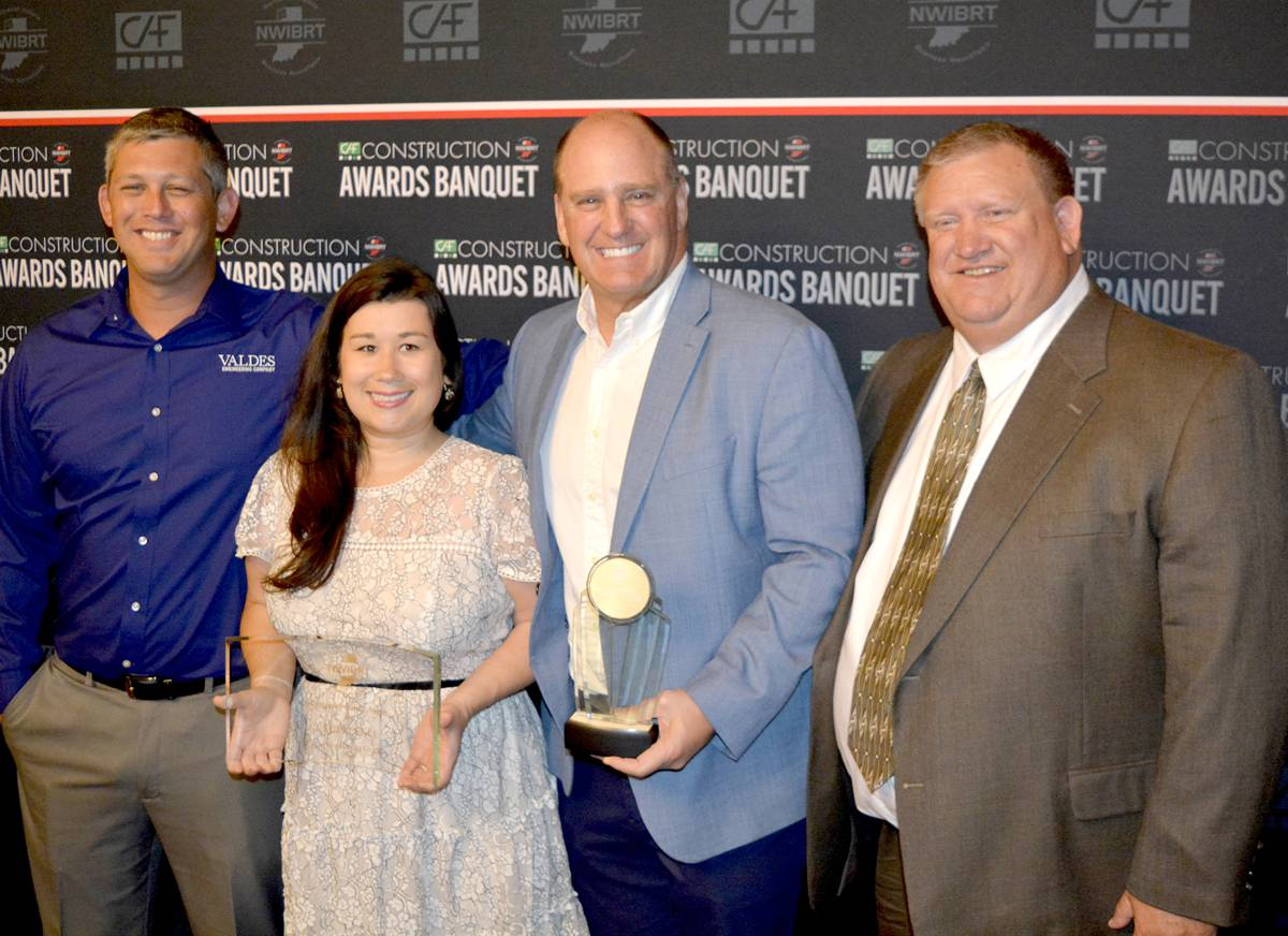 Valdes Engineering earned the Company of the Year award.