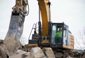 Cat introduces six new Primary and Secondary Concrete Demolition Pulverizers