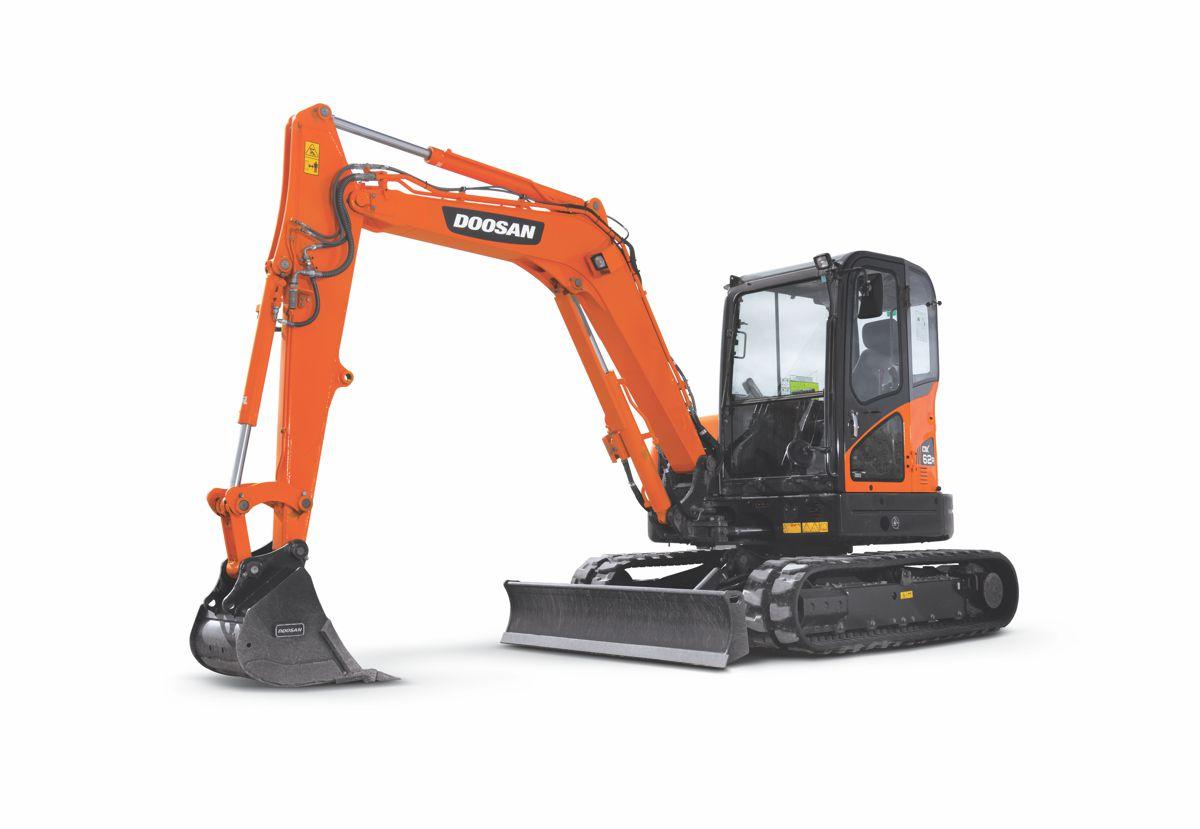 Doosan mini-excavators to be showcased at the Las Vegas Rental Show
