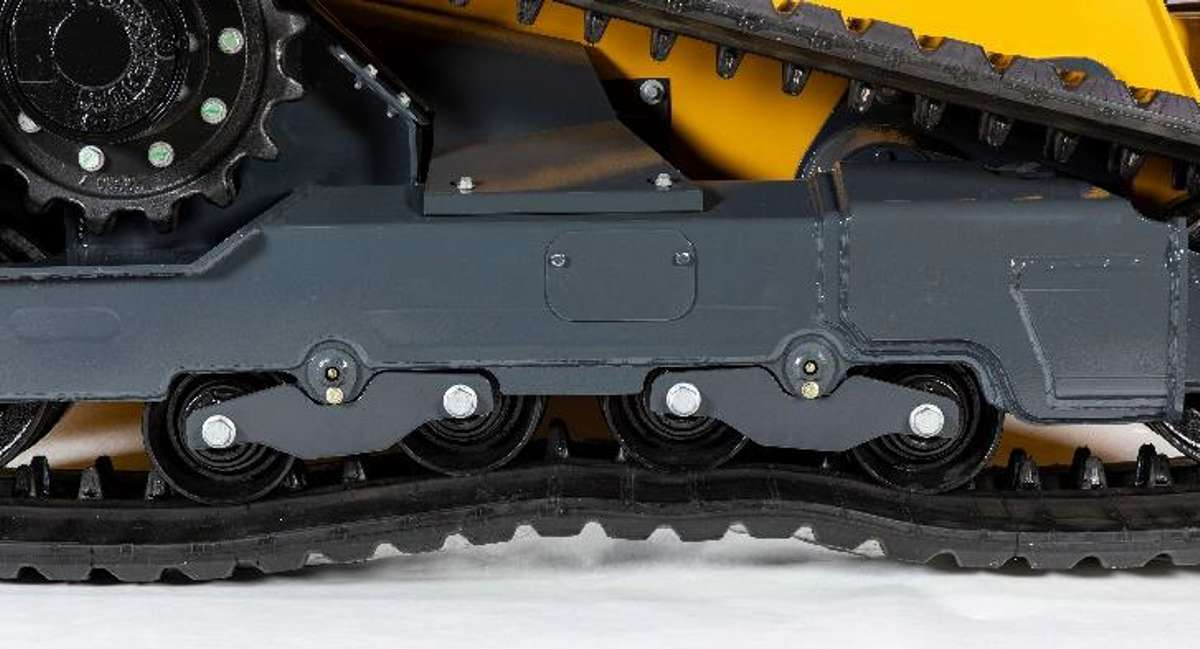 John Deere debuts Anti-Vibration Undercarriage System for 333G Compact Track Loader