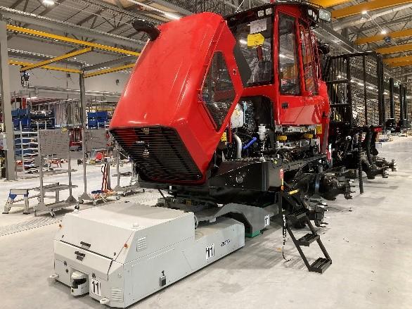 Komatsu's new Swedish Eco-Friendly Manufacturing Plant starts production