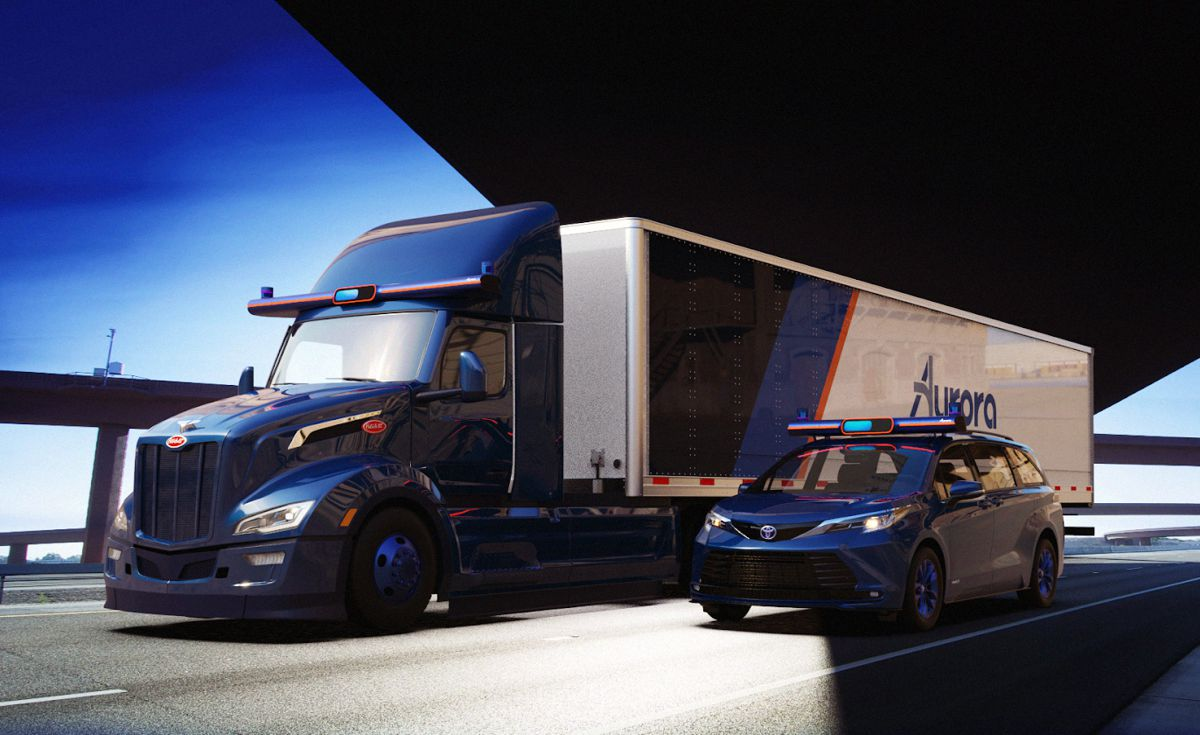Aurora pilots technology for future truck ride-hailing business