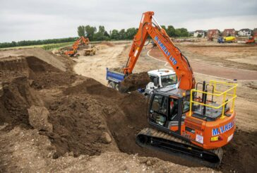 Hitachi ZX130-7 Excavator delivers comfort and safety for MV Kelly
