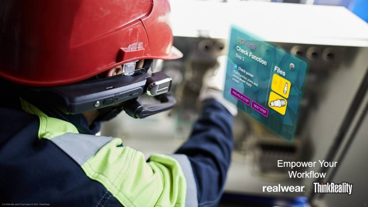 Lenovo and RealWear to deliver Assisted Reality solutions