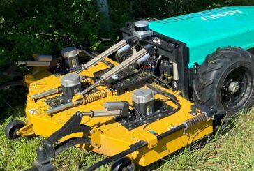 Velodyne Lidar Puck sensors integrated into autonomous vegetation robots