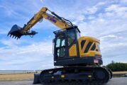 All new XCMG XE155ECR mid-sized Hydraulic Excavator features stage V engine