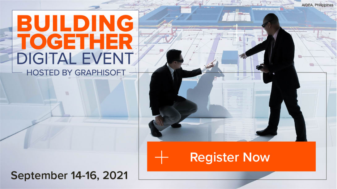 Influence the future of AEC at Graphisoft's Building Together 2021 Digital Event
