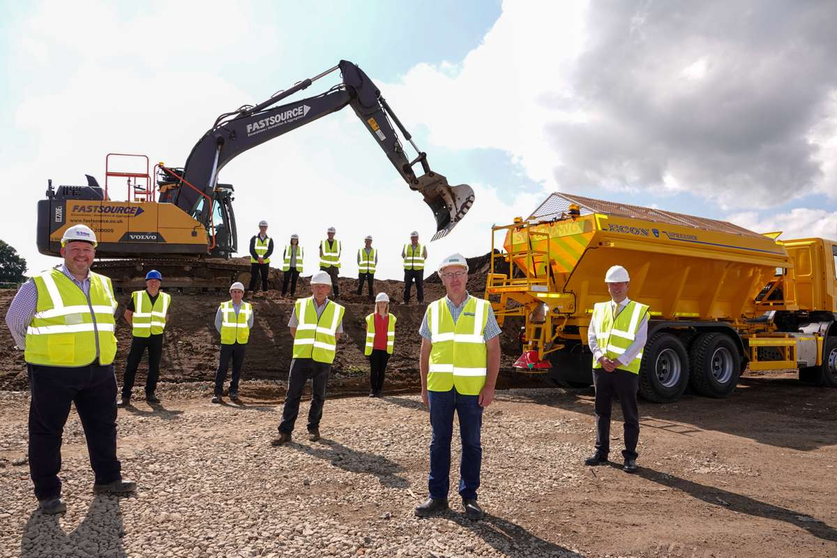 Econ expands with new £7m Engineering facility to manufacture Gritters