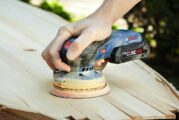 Bosch Power Tools introduces 12V and 18V Cordless Orbit Sanders