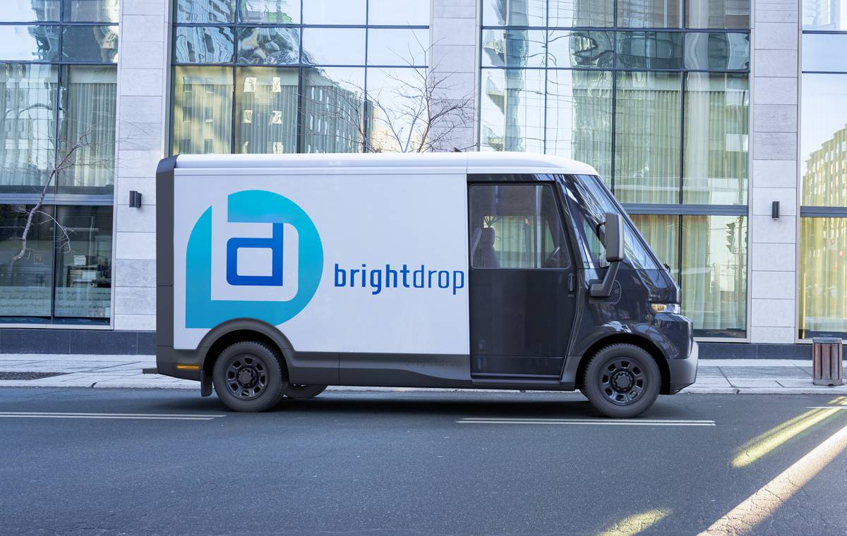 BrightDrop completes its first Electric Light Commercial Vehicle