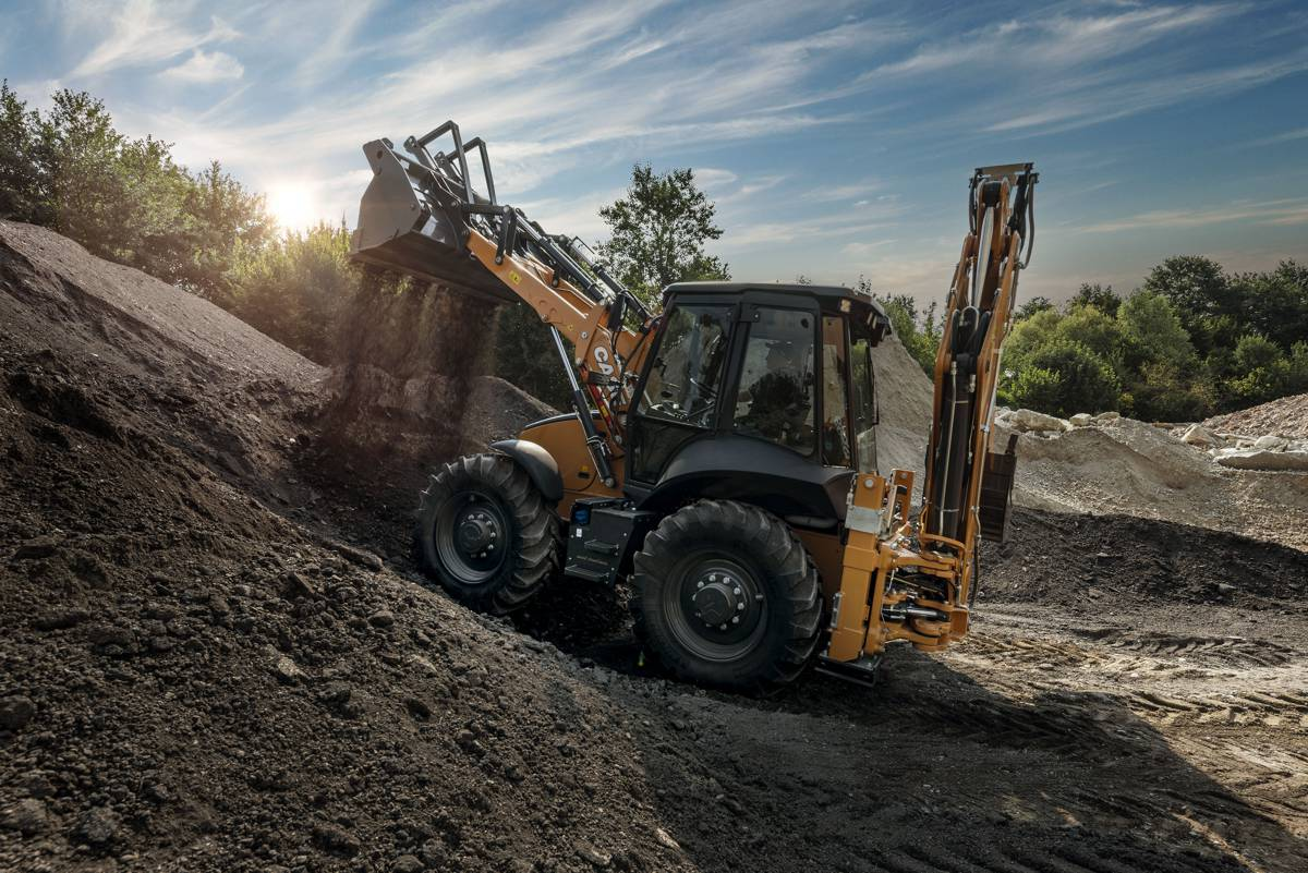 Case re-engineers their acclaimed SV Series Backhoe Loader