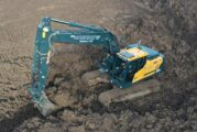 A Hyundai HX210A Excavator is the ideal solution for CG Robinson