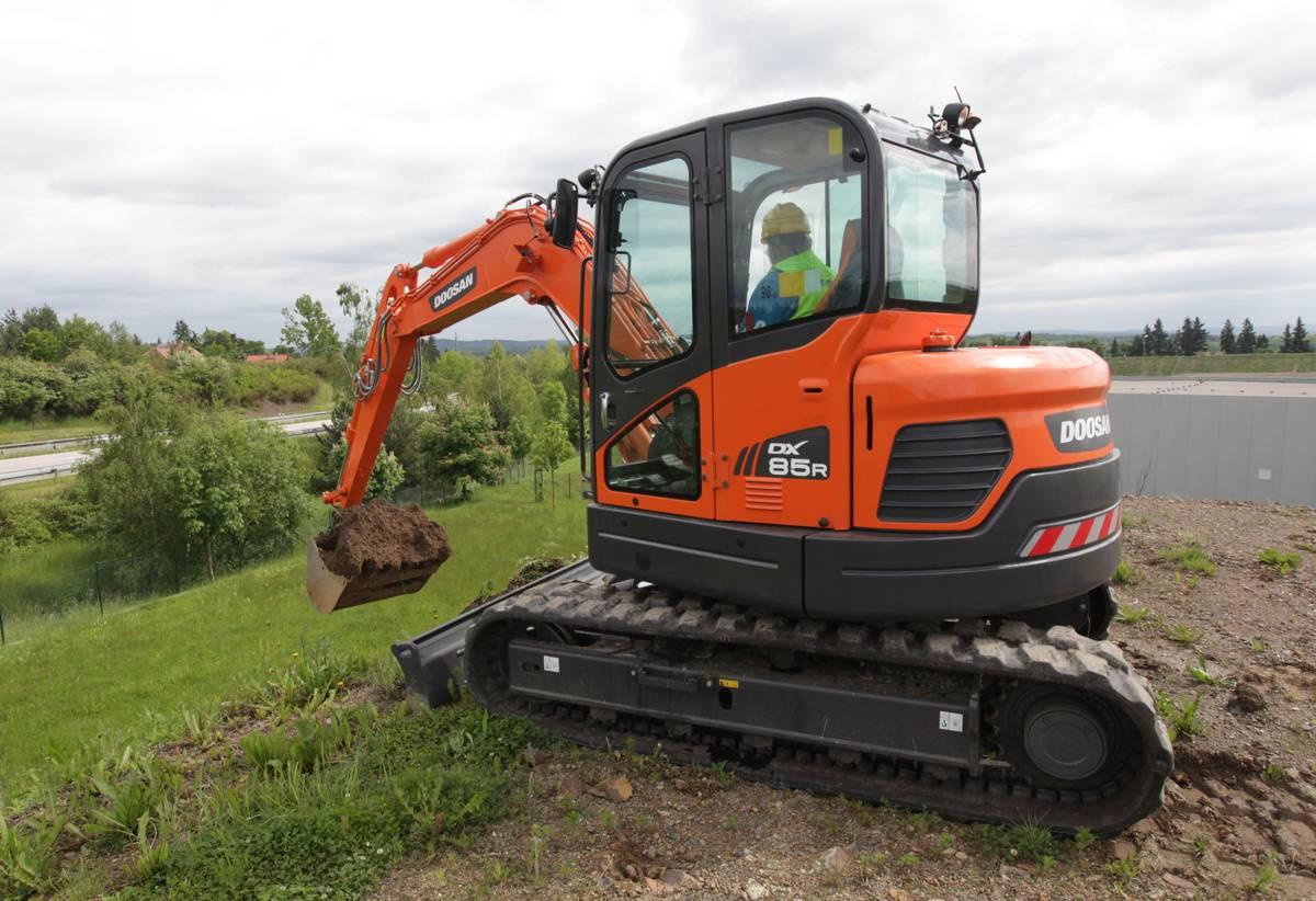 Doosan to showcase Mini-Excavators at 2021 Rental Show