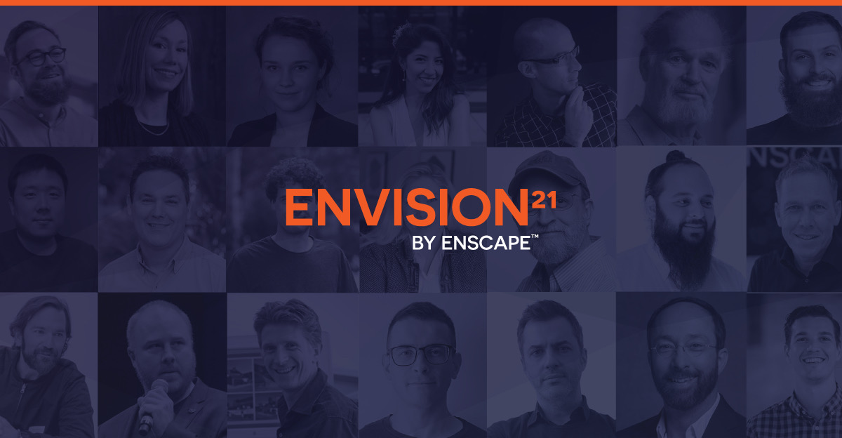 ENVISION 21 bringing 3D Rendering and Architectural Visualization community together