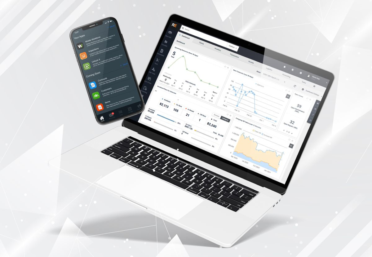 Point of Rental Elite software expands web-based interface