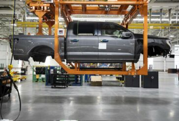 All electric F150 Lightning Truck starts pre-production