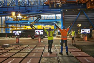 100-ton Volvo Hauler hauled by a Lego Technic Elements Hauler
