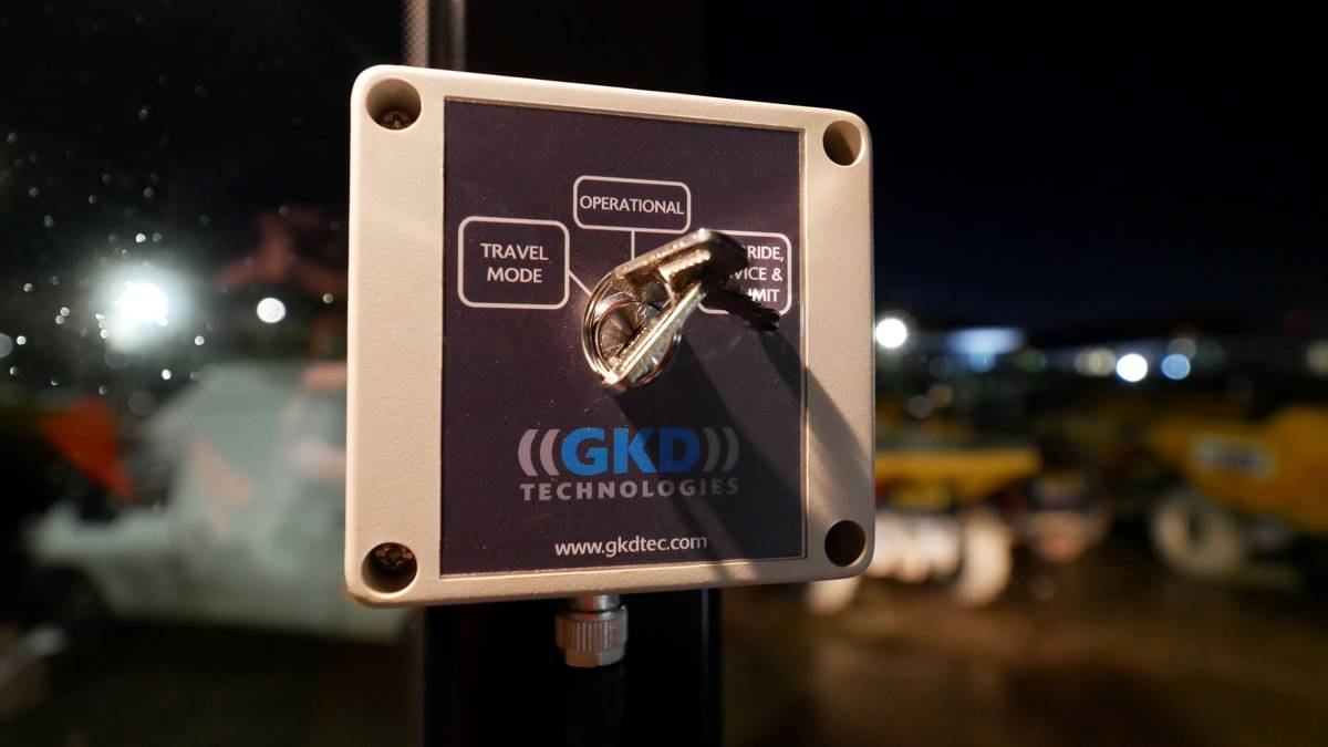 Lynch Plant leads the Way in Telehandler Safety with GKD Technologies