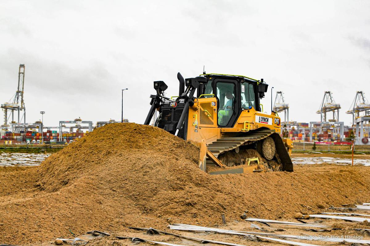 Lynch Plant Hire invests for the future with 80 new Caterpillar machines