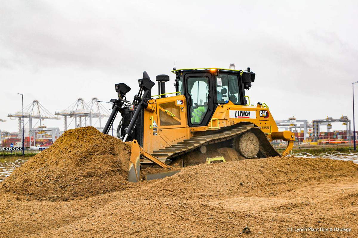 L Lynch Plant Hire invests for the future with 80 new Caterpillar machines