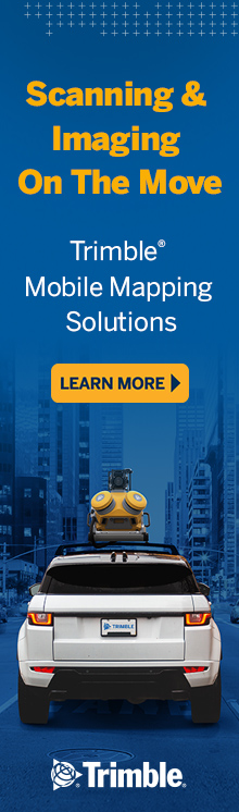 Scanning and Imaging on the Move with Trimble
