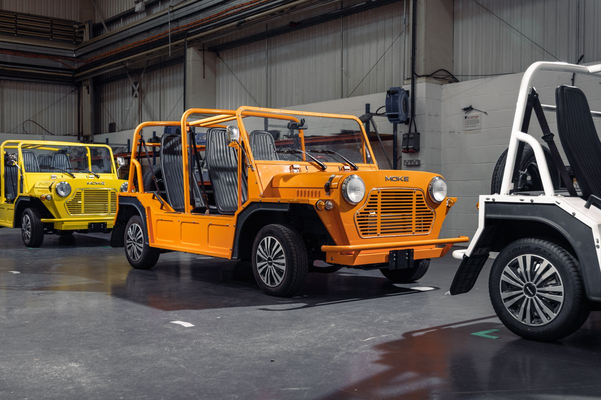 MOKE restarts production of their classic vehicle in the UK