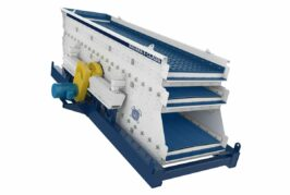 Haver and Boecker Niagara launched New F-Class Vibrating Screen at MINExpo