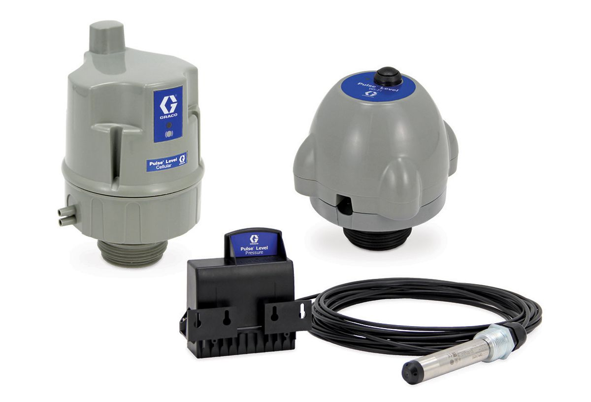 Graco introduces intuitive pulse level Tank Monitoring System