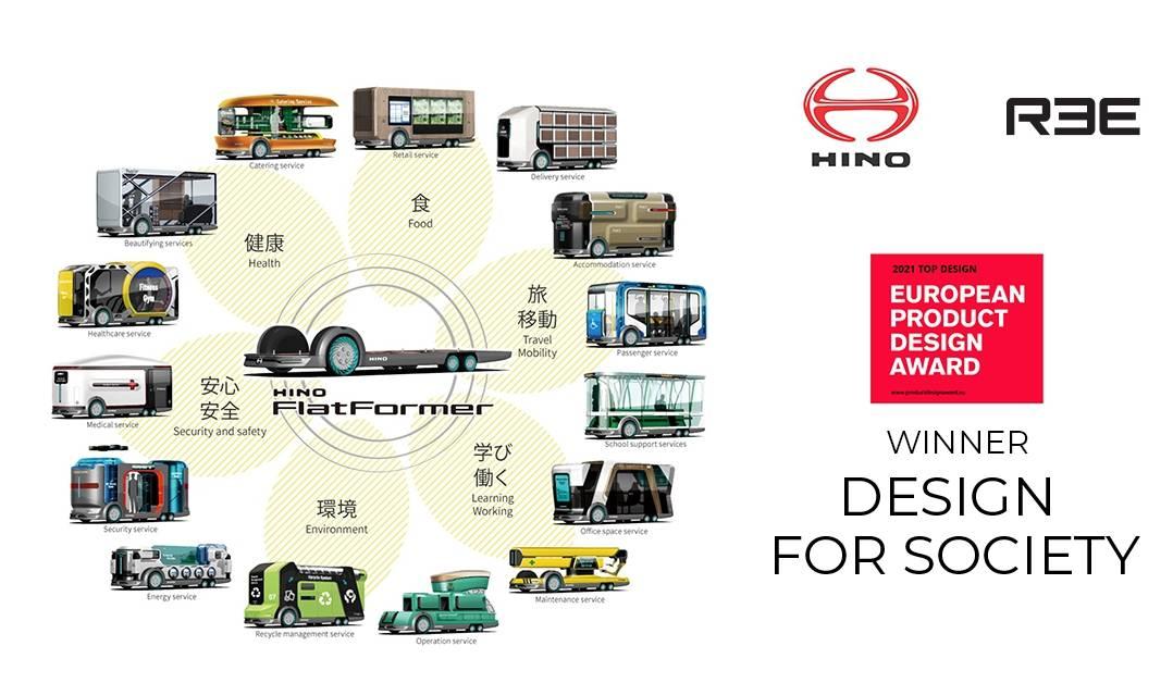 REE Automotive and Hino win European Product Design Award