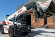 Norilsk Nickel invests in five New Bobcat Rotary Telehandlers in Russia