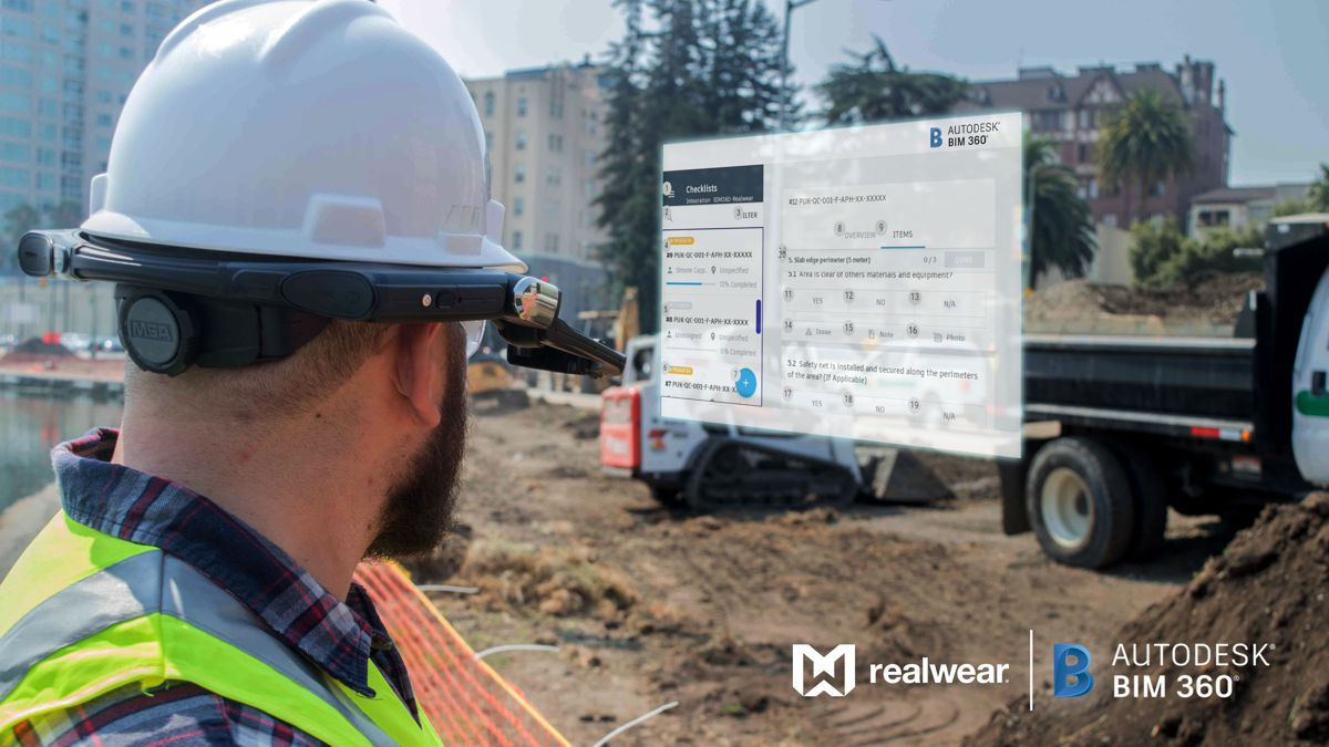 Autodesk goes hands free with RealWear assisted reality Construction Management
