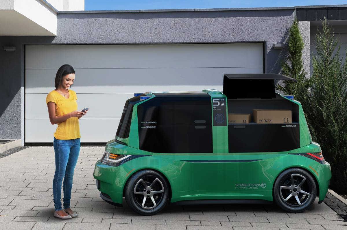 wilko invests in StreetDrone for autonomous deliveries