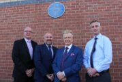 Edgar Hooley inventor of the modern road surface honoured with a blue plaque